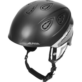 Alpina Grap 2.0 Ski Helmet black-grey matt
